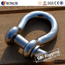 Us Type Screw Pin Bow Stainless Steel Shackle